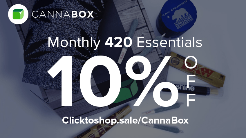 CannaBox Coupon Code - Online Discount - Save On Cannabis