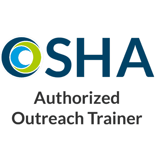 OSHA authorized outreach trainer logo