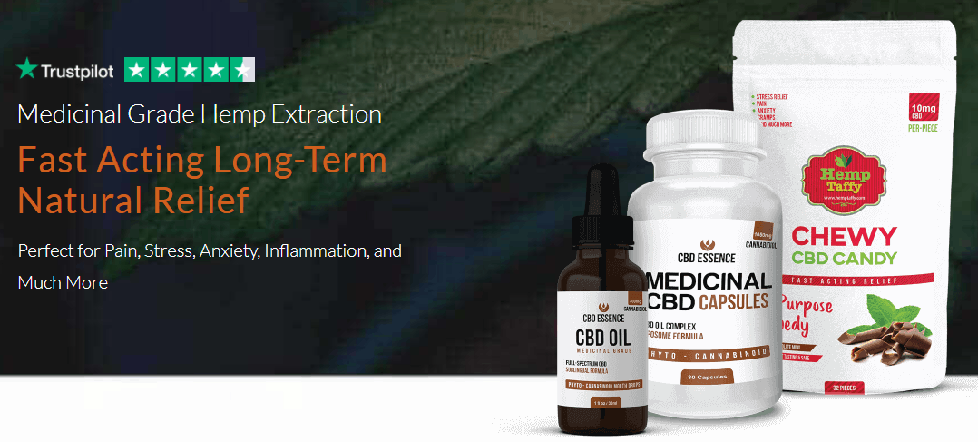 CBD Essence Coupons Natural Relief