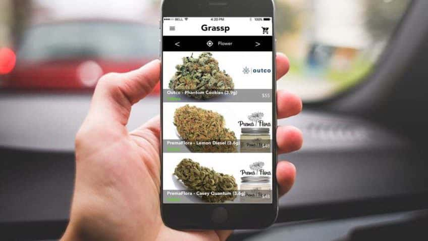 Grassp - Cannabis Delivery Coupon Codes - Save On Cannabis - App