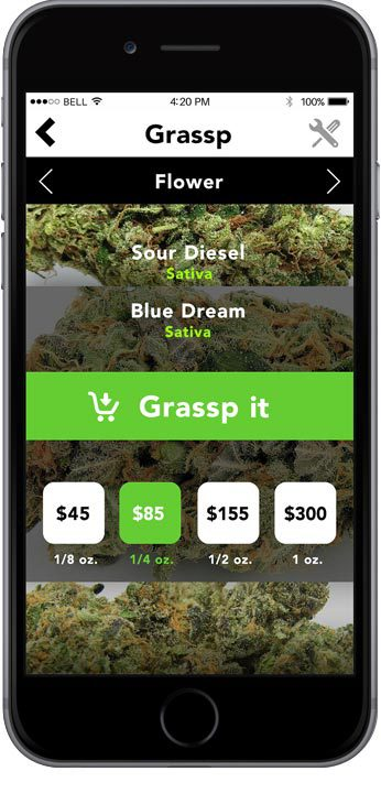 Get marijuana delivery by Grassp with coupon codes!