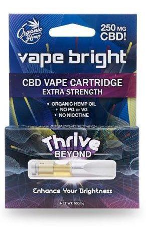 Vape Bright Thrive Coupon Codes CBD Vaporizer Oil