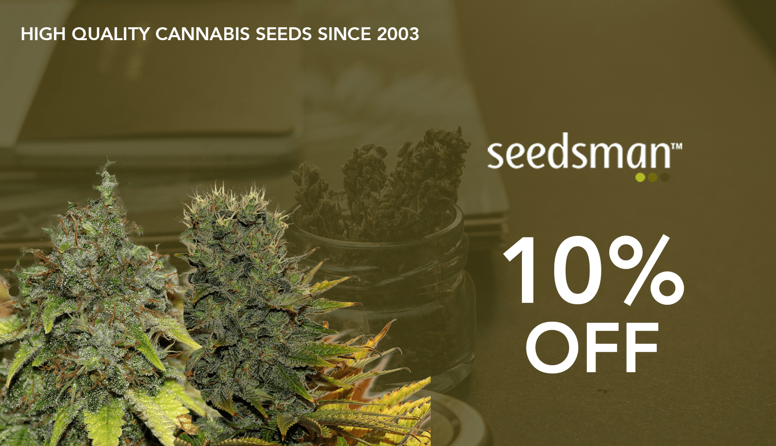 SeedsMan CBD Coupon Code discounts promos save on cannabis online Website