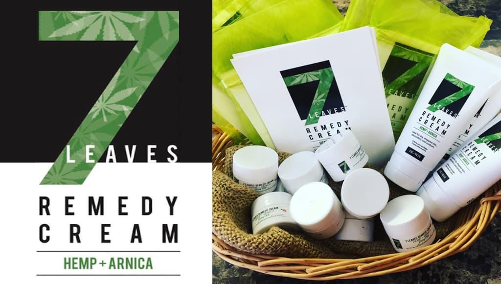 7 Leaves Cream - Releaf Cosmetics - CBD Coupon Code - Save On Cannabis