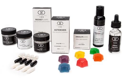 Infinite CBD coupon code for creams, capsules, tinctures, gummies