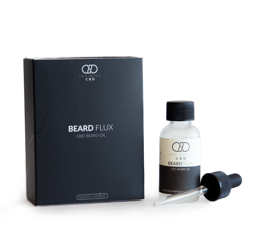 discount promo code for Infinite CBD Beard Flux beard oil