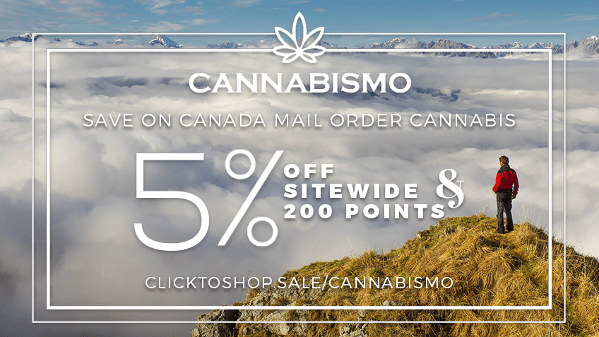 Cannabismo Coupon Codes - Canada Cannabis Online Mail Order - Marijuana - Promo - Save On Cannabis