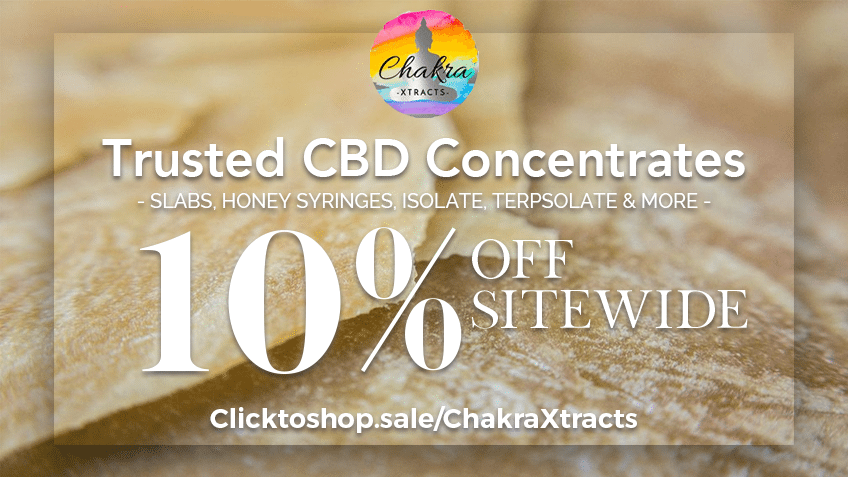 Chakra Xtracts Coupon Codes - CBD Concentrates Online - Cannabis - Marijuana Online - Promos - Save On Cannabis