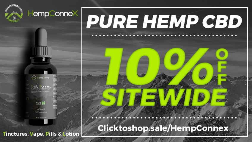 HempConnex Coupon Codes - CBD Online - Tinctures - Vape - Oils - Concentrates - Cannabis Online - Marijuana Promo - Save On Cannabis