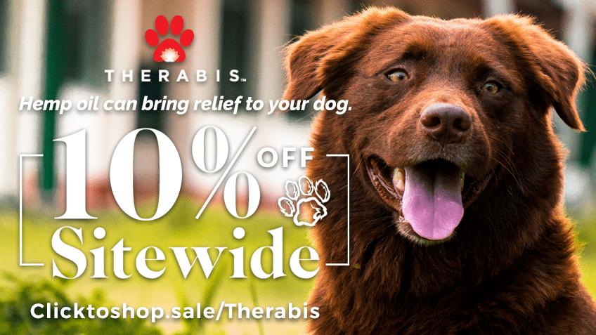 Therabis Coupon Codes - Hemp - CBD - Cannabis - Marijuana Online - Pet Treats - Pet Medicine - Arthritis - Itch - Pain - Promo - Save On Cannabis