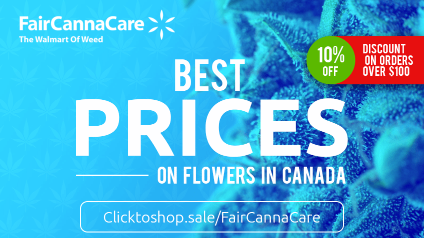 Fair Canna Care - Coupon Codes - Marijuana Online Canada - Promo - Save On Cannabis