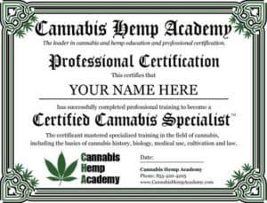 Cannabis Hemp Academy Coupon Discount Coupon Promo Certificate