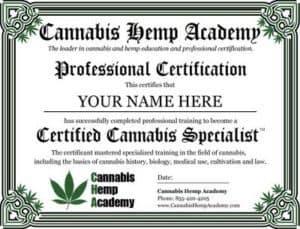 Cannabis Hemp Academy Coupon Discount Coupon Promo Certificate