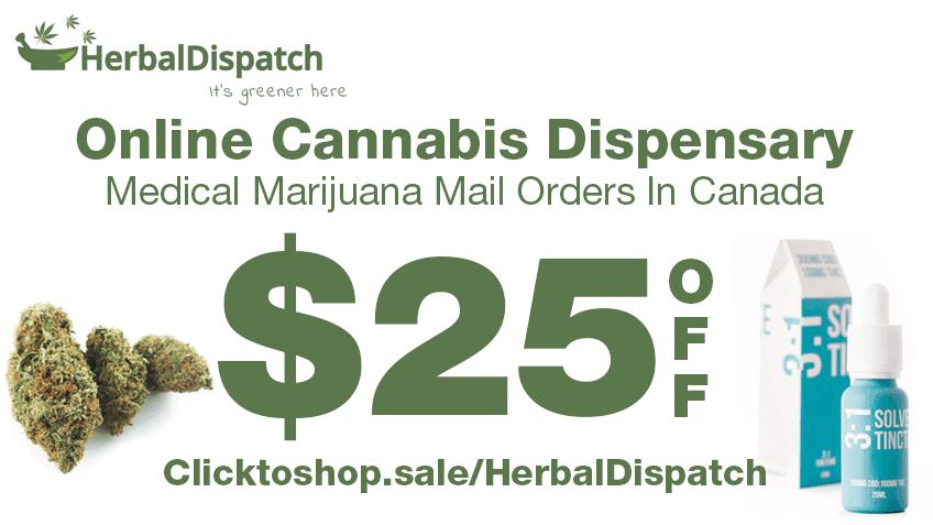 Herbal Dispatch Discount Coupon Promo Certificate Website