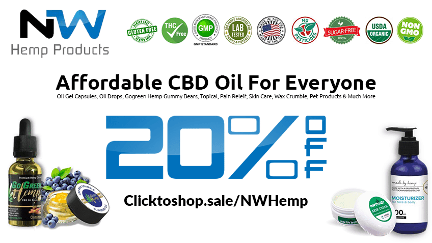 NW Hemp Products coupon Discount Coupon Promo NHWP Website