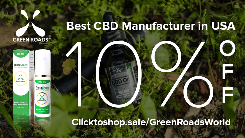 Get Green Roads' Coupon Codes Here For CBD Online