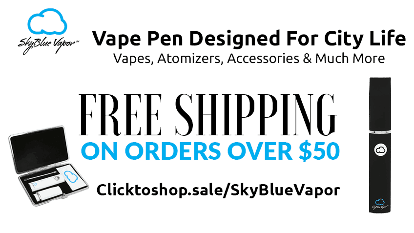 SkyBlue Vapor Free Shipping Coupon Promo Certificate Website