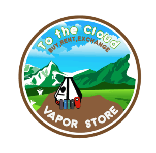 To The Cloud Vapor Store Coupon Promo Certificate Logo