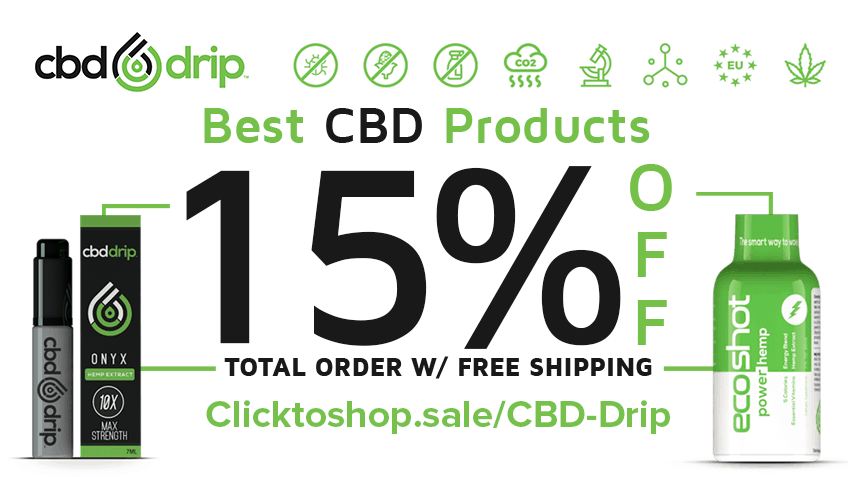 CBD Drip Coupon Code Online Discount Save On Cannabis