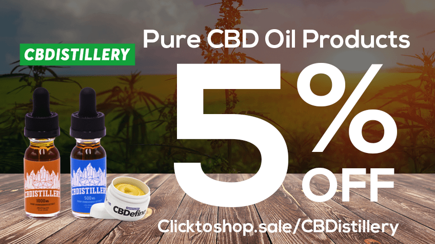 CBDistillery Coupon Code - Online Discount - Save On Cannabis