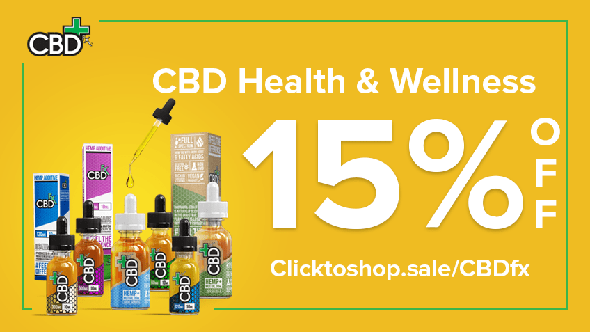 CBDfx Coupon Code Online Discount Save On Cannabis