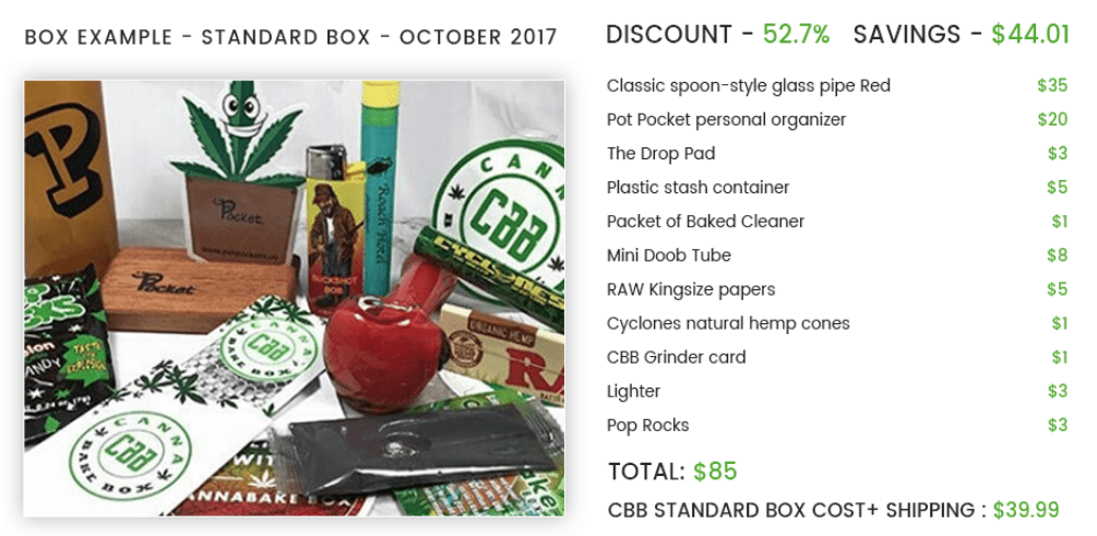CannaBakeBox Coupon Code - Cannabis Online