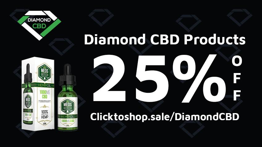 Get Diamond CBD Coupon Codes Here! - Discounts - Promos