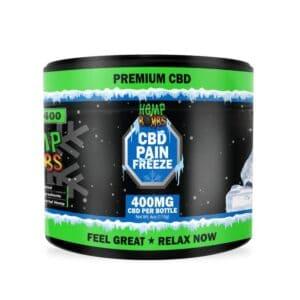 Hemp Bombs CBD Coupon Code Pain freeze 400mg
