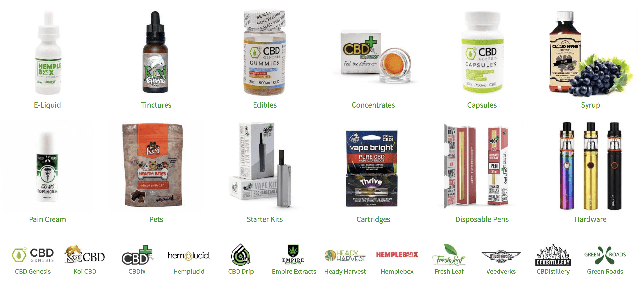 CBD Genesis Coupon Codes - Hemp Online