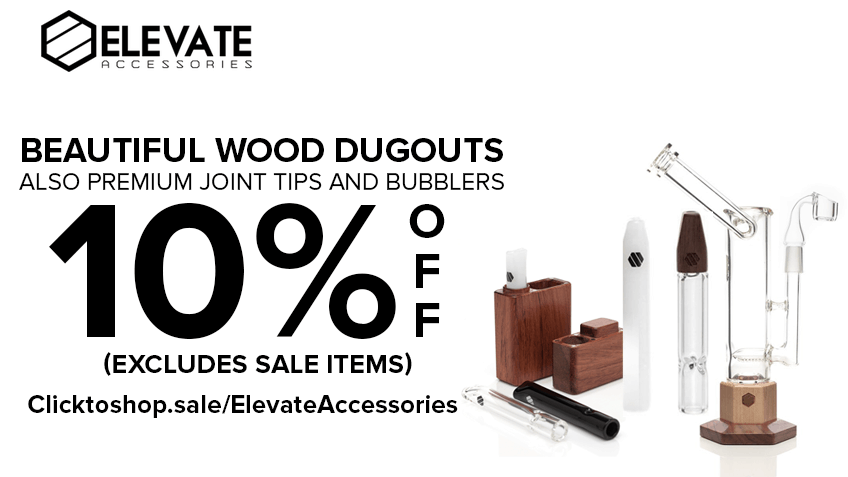 Elevate Accessories Coupon Code - Online Discount - Save On Cannabis