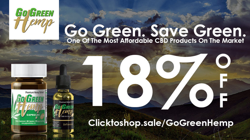 Go Green Hemp Coupon Code - Online Discount - Save On Cannabis