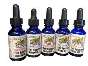 Hemp Victory Garden CBD Coupons Water Soluble Tincture
