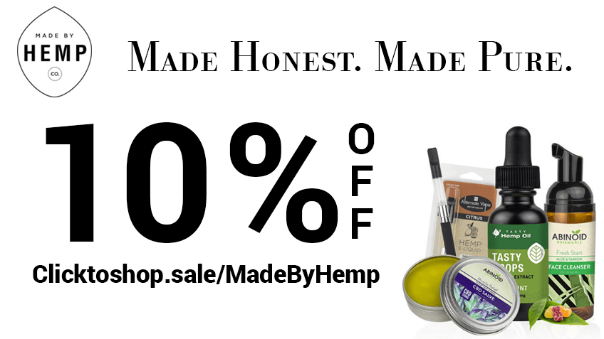 Made By Hemp Coupon Code - Online Discount - Save On Cannabis
