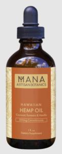 Mana Artisan Botanics Hawaiian CBD Oil