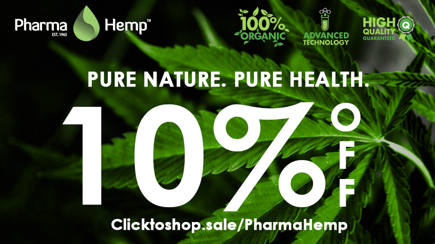 PharmaHemp Coupon Code - Online Discount - Save On Cannabis