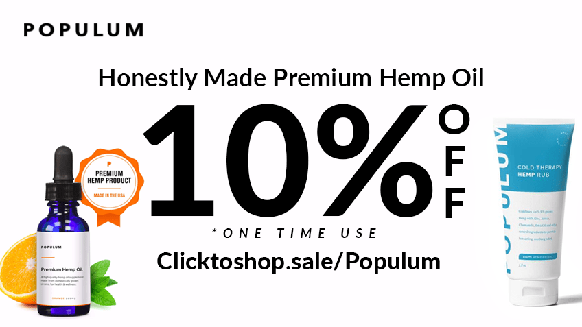 Populum Coupon Code - Online Discount - Save On Cannabis