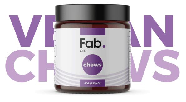 Fab. CBD Coupon Codes - Hemp Oil Edibles Chews - Cannabis