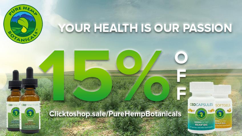 Pure Hemp Botanicals Coupon Code - Online Discount - Save On Cannabis