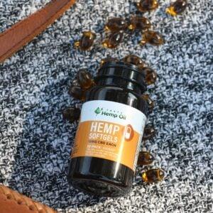 Tasty Hemp Oil CBD Coupon Code softgel