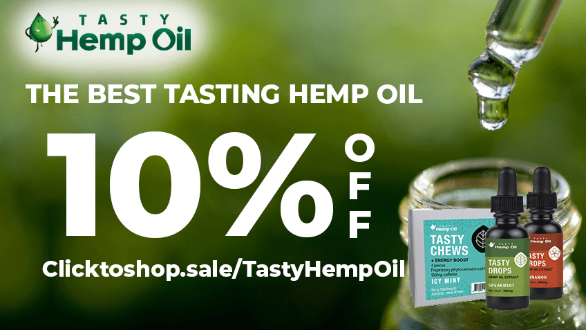 Tasty Hemp Oil Coupon Code - Online Discount - Save On Cannabis