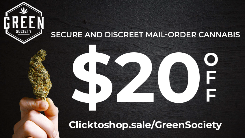Green Society Coupon Code - Online Discount - Save On Cannabis