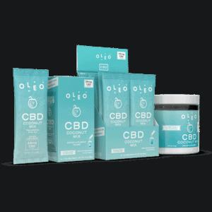 Oleo CBD Coupon Coconut CBD Drink Mix HYDRATE Freeze Dried Coconut Water
