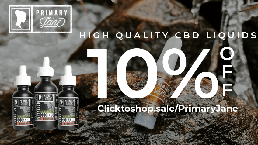 Save money now with Primary Jane coupon codes! Buy CBD