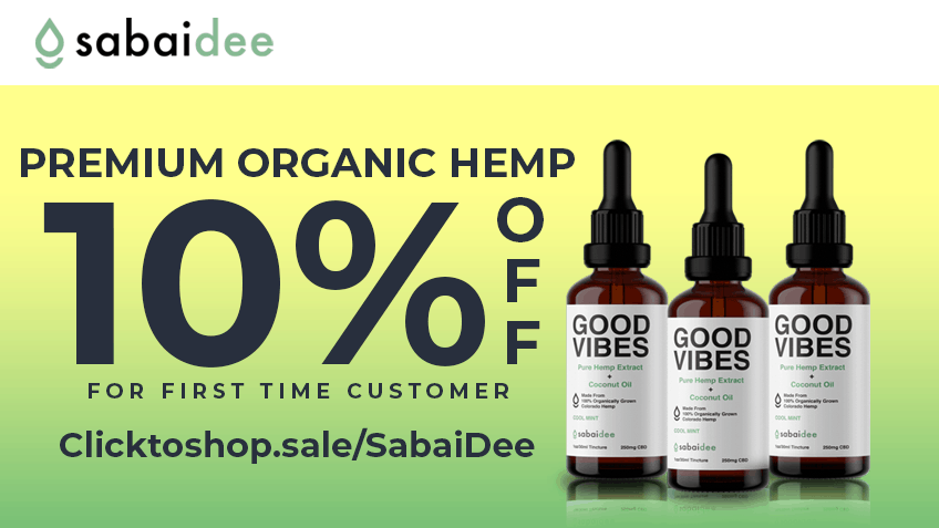 SabaiDee Coupon Code - Online Discount - Save On Cannabis
