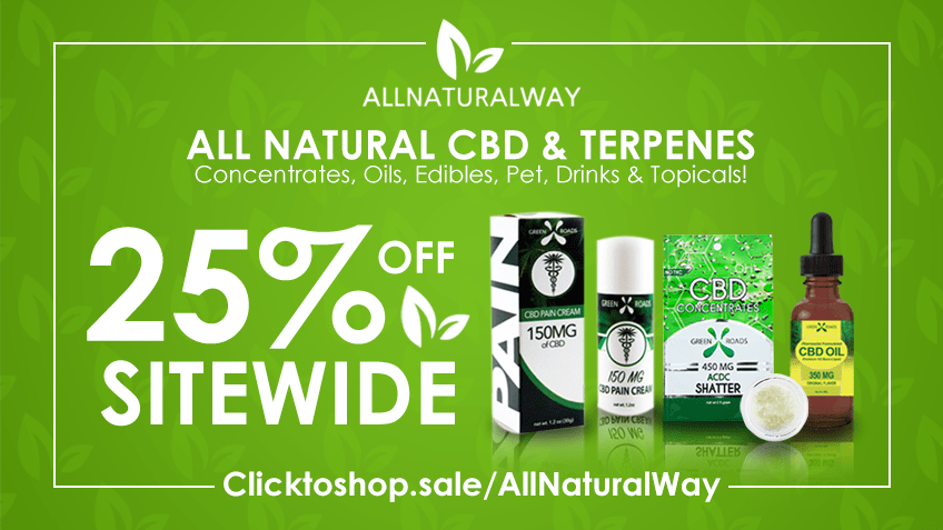 All Natural Way Coupon Code Online Discount Save On Cannabis