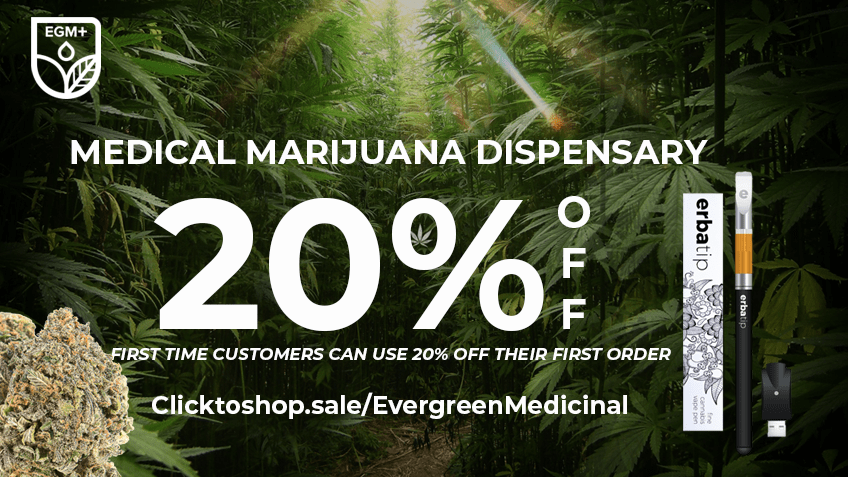 Evergreen Medical (coupon 2) Coupon Code - Online Discount - Save On Cannabis