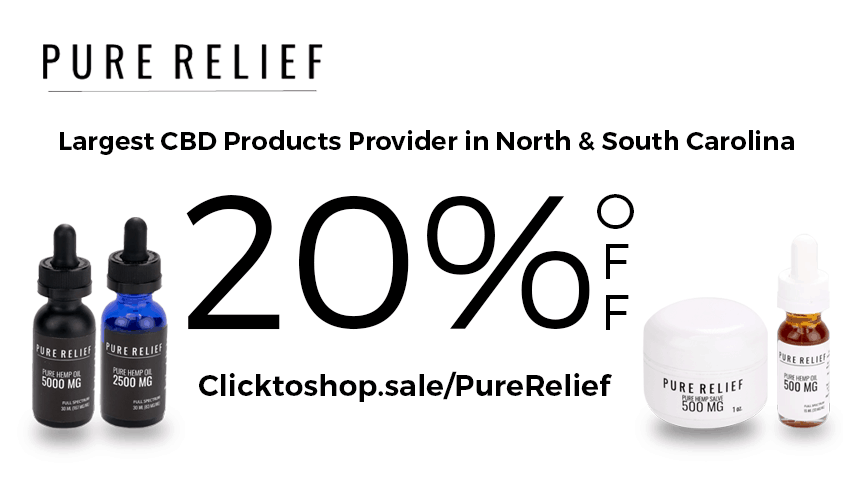 Pure Relief CBD Coupon Code - Online Discount - Save On Cannabis