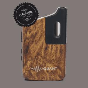 Quant Vapor CBD Coupons Walnut Wood Finish Vaporizer