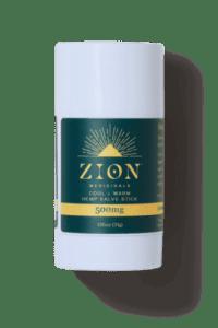 Zion Medicinals CBD Coupon 500mg Hemp Salve Stick