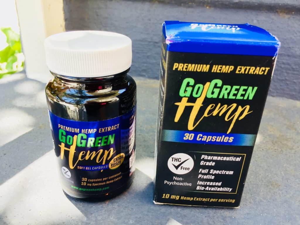 GoGreen Gel Capsules Review and coupons